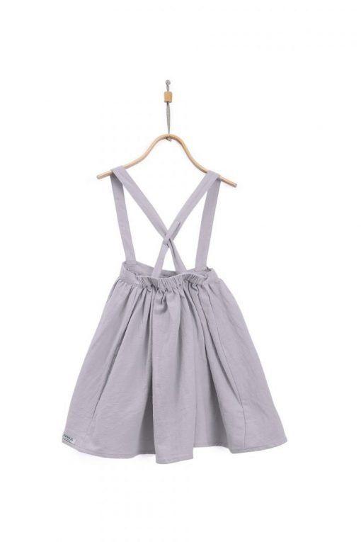 Emma Skirt Iron Grey 2