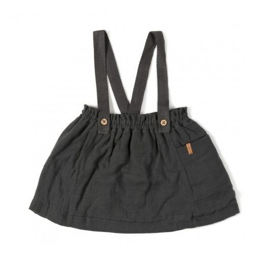 Strap Skirt Antracite