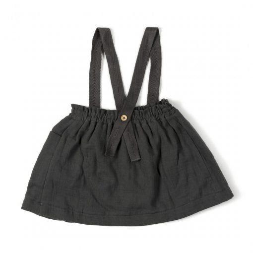 Strap Skirt Antracite back