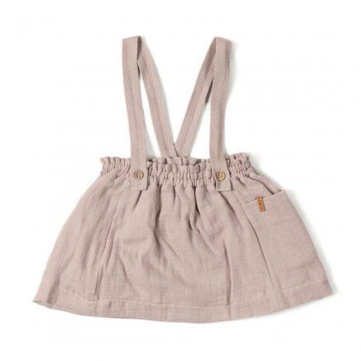 Strap Skirt Old Pink