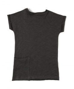 Tshirt Dress Antracite back
