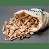 bolsa sorpresa 100 piezas de madera de milaniwood