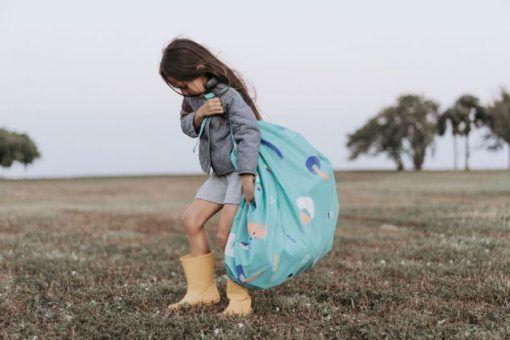 outdoor play girl walking