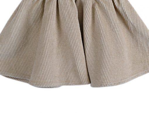 Alma Skirt Ecru Corduroy 04