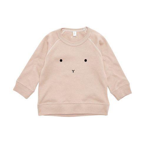 sudadera conejito organi zoo rosa 9301246
