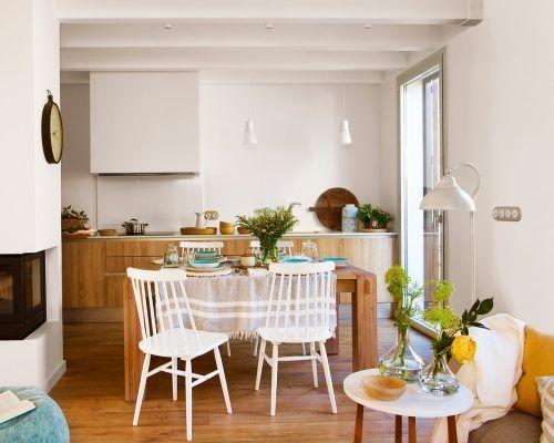 cocina comedor y salon conectados 1280x1024