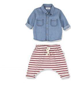 conjunto de ropa de bebe one more in the family