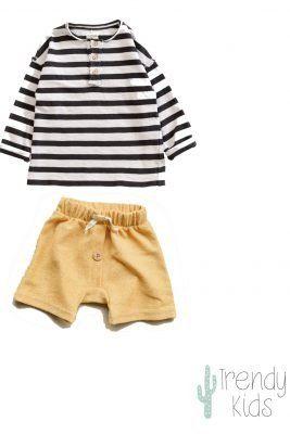 conjunto ropa de bebe organic zoo
