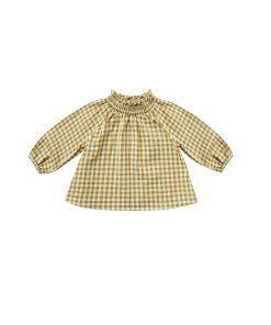 audrey blouse gingham