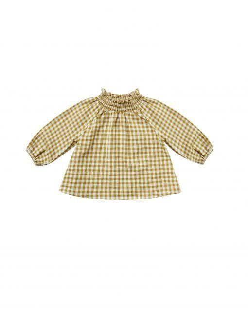 audrey blouse gingham scaled