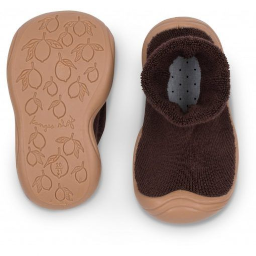 SOCK SLIPPERS SHOES KS1645 MOCCA