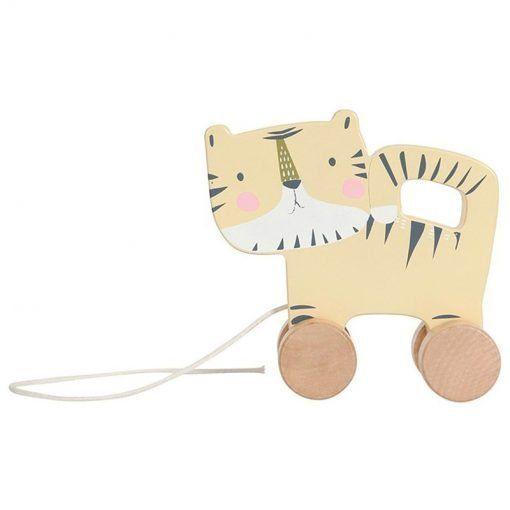 arrastre de madera tigre little dutch