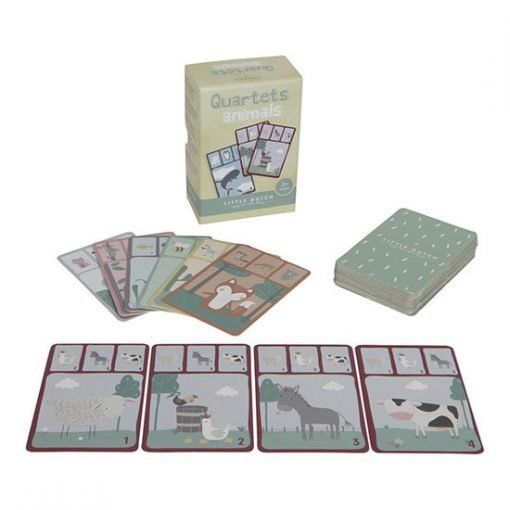 little dutch quartets card game animals little dut