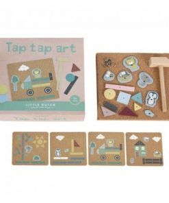 set de arte tap tap little dutch 3