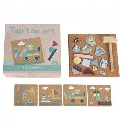 set de arte tap tap little dutch 3