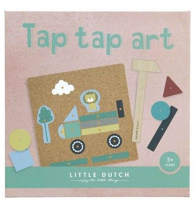 set de arte tap tap little dutch