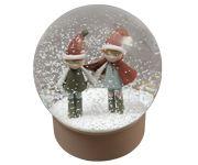 Bola Nieve Navidad Elves