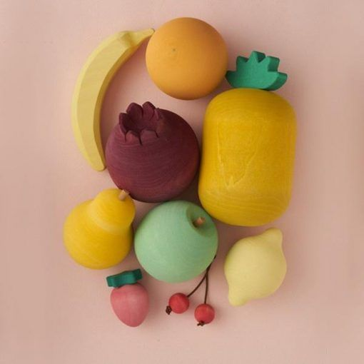 Raduga Grez Wooden Fruit Set Houten Fruit Set Fruitset Elenfhant