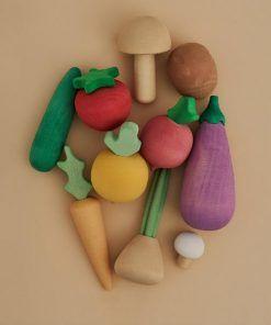 Raduga Grez Wooden Vegetables Set Houten Groentes Groenten Set Groente Elenfhant 600x600PX 800x