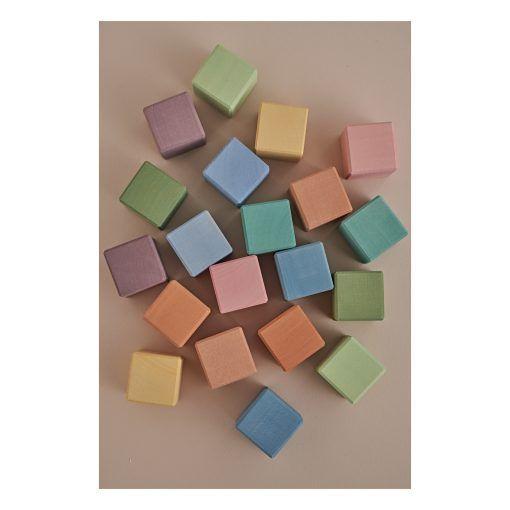 cubos de madera 20 piezas 1