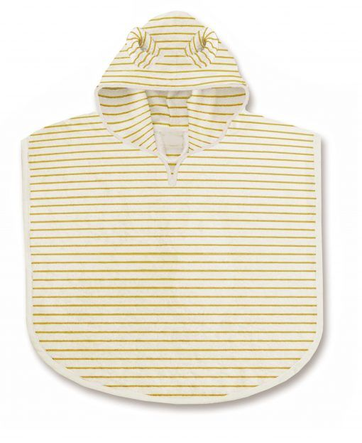 KS1765 TERRY PONCHO STRIPED SUNFLOWER Extra 0 scaled