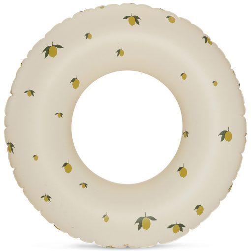 konges sloejd badering pool ring swimring lemon 1 p